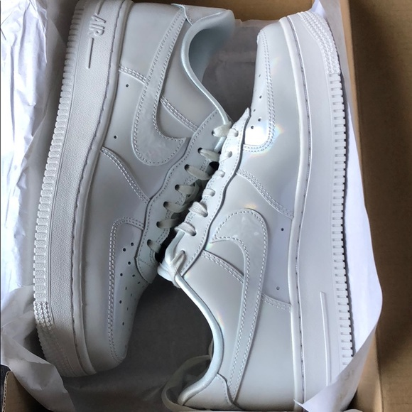 Nike Shoes | Womens Air Force 1 07 Luxe Iridescent | Poshmark